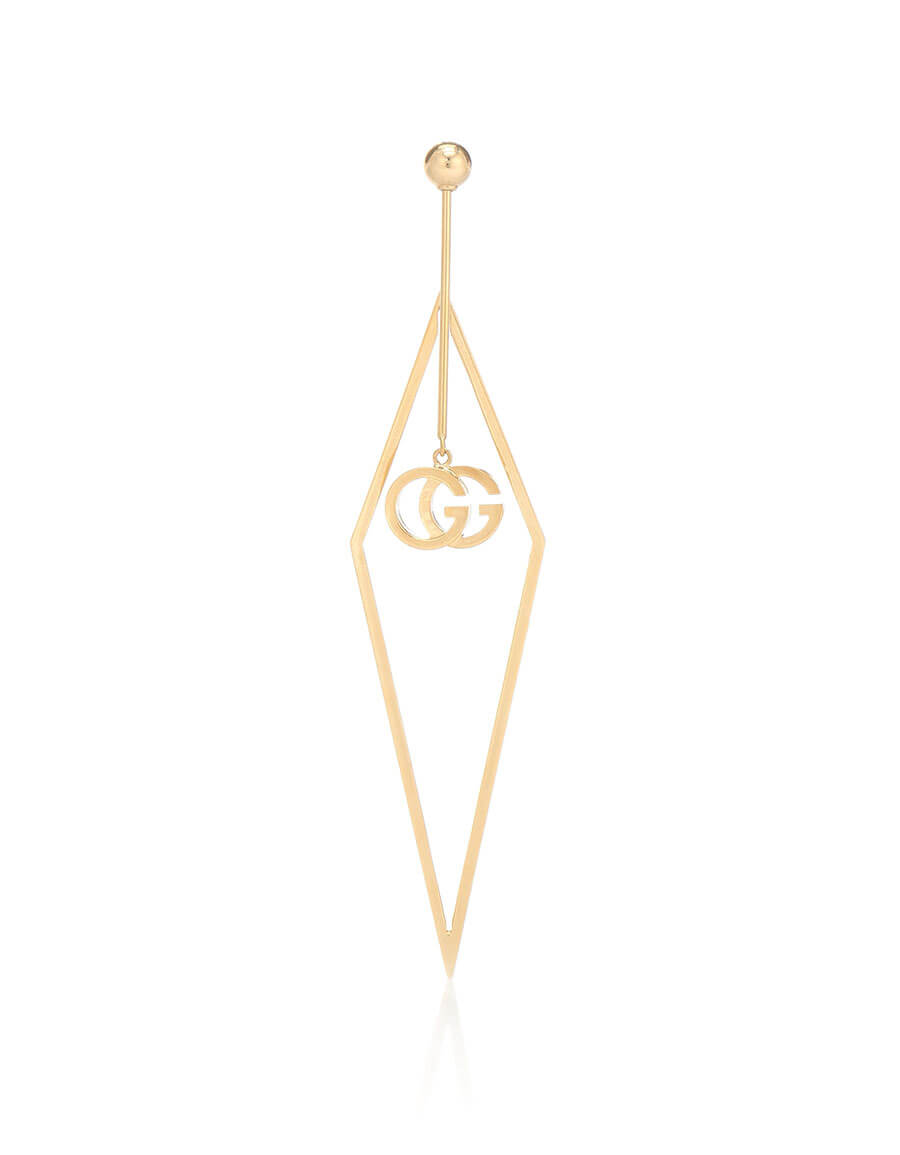 GUCCI GG Running 18kt gold single earring