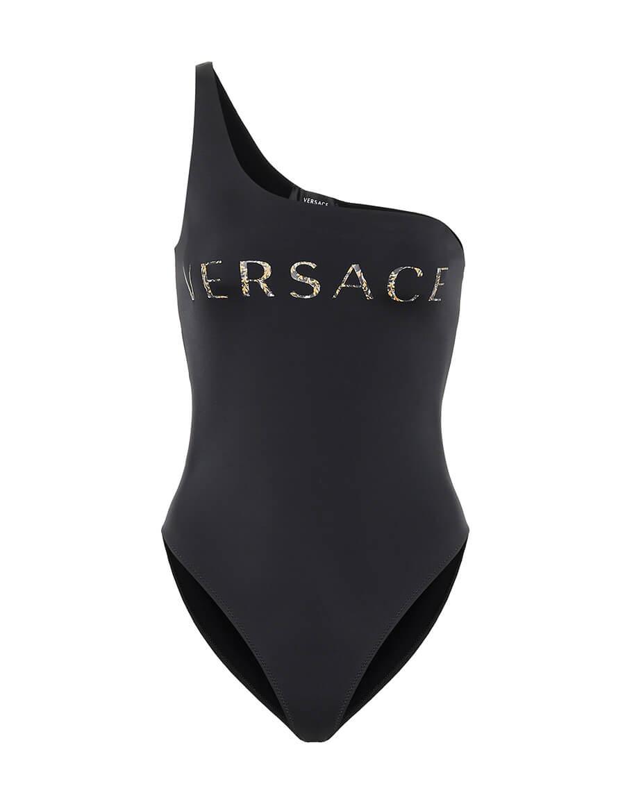 VERSACE One shoulder swimsuit