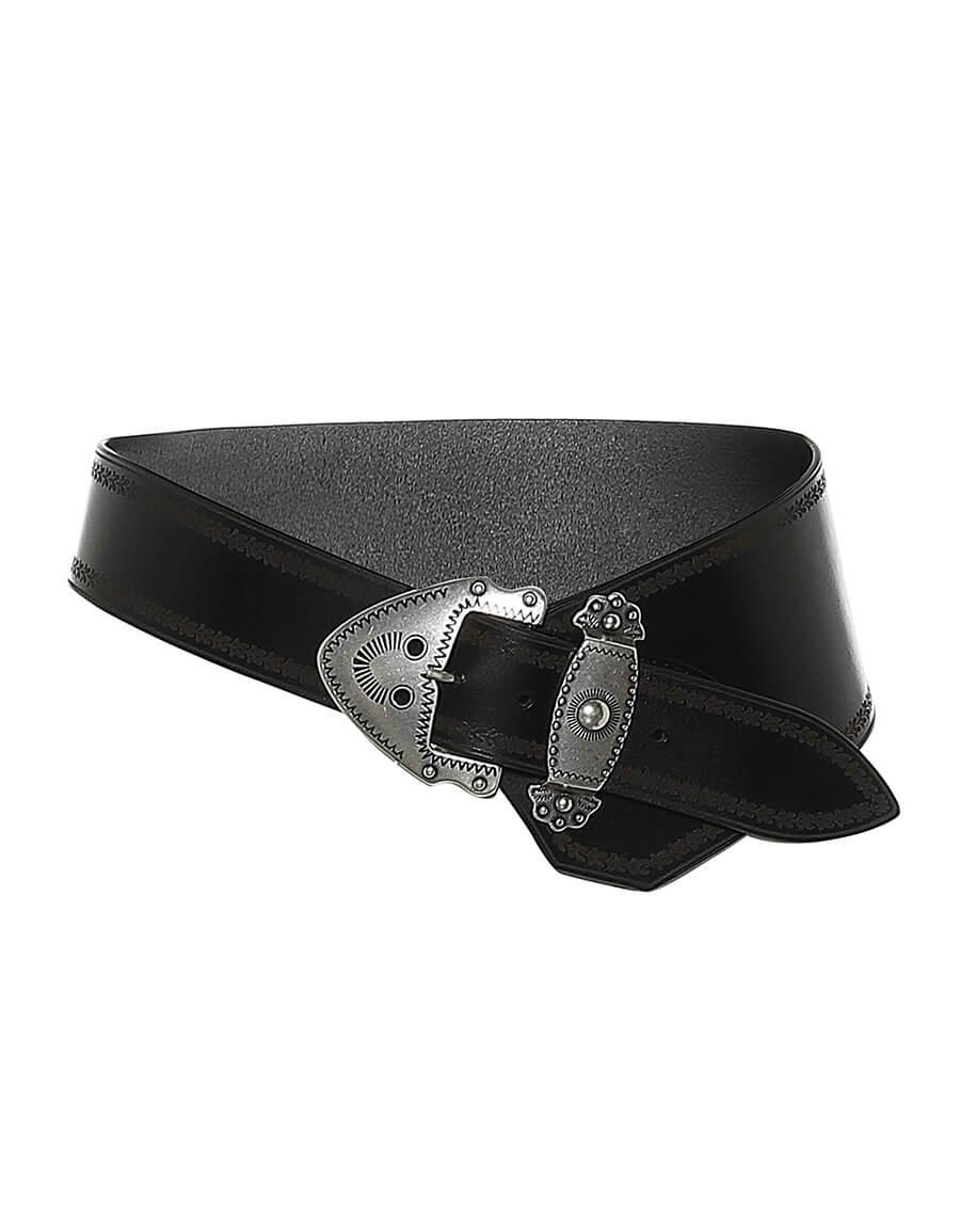 ISABEL MARANT Liko leather belt