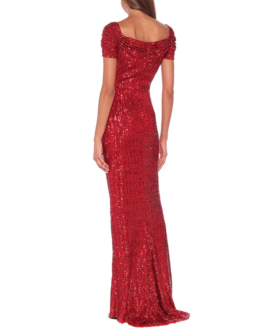 DOLCE & GABBANA Sequined gown