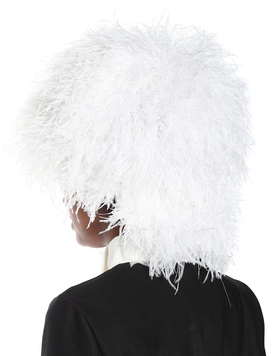 LOEWE Wig feather hat