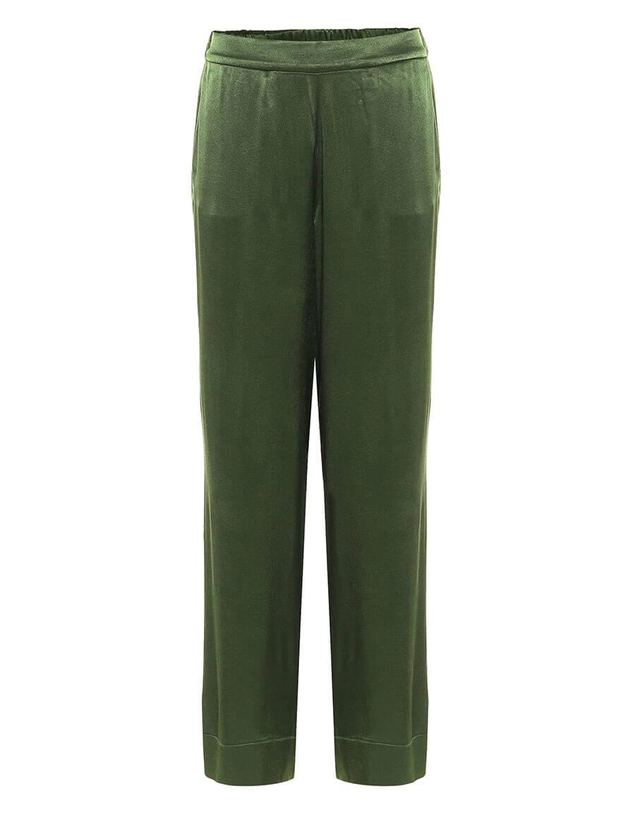 ASCENO London bamboo satin pajama pants