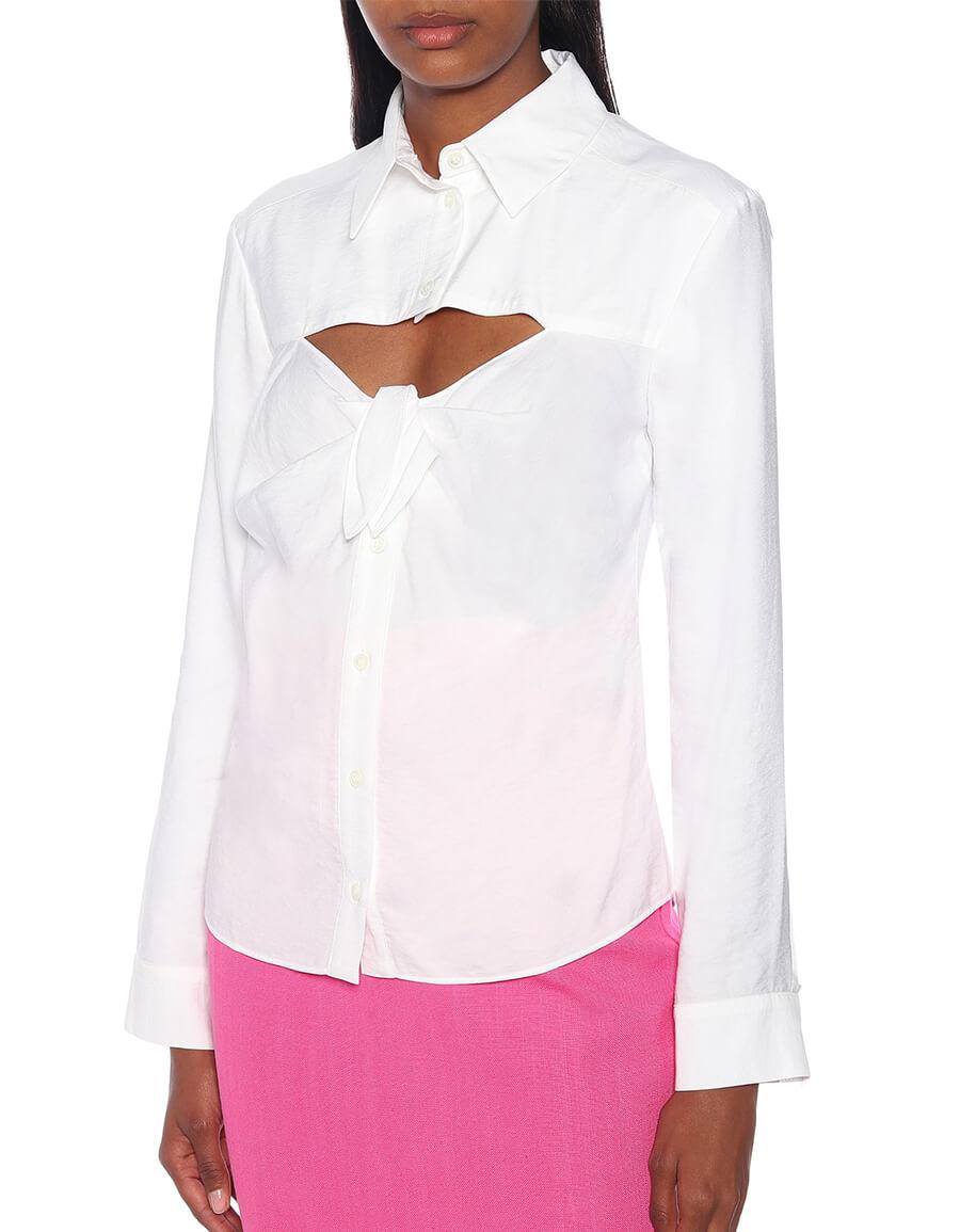 JACQUEMUS La Chemise Albi shirt