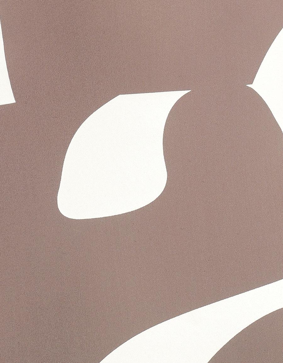 MAISON MARGIELA Logo stretch jersey bodysuit