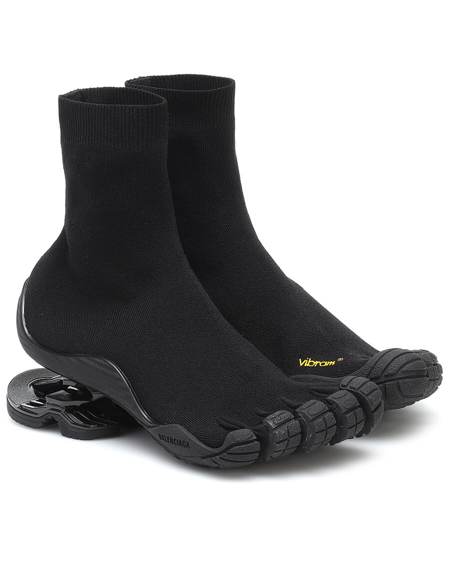 BALENCIAGA High Toe sock sneakers