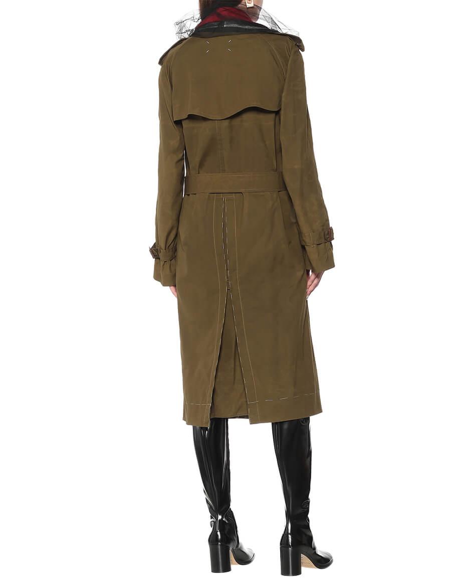 MAISON MARGIELA Cotton trench coat