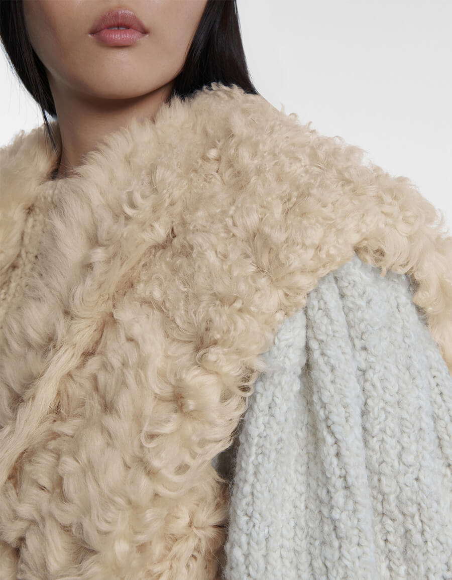 ISABEL MARANT Astio shearling vest