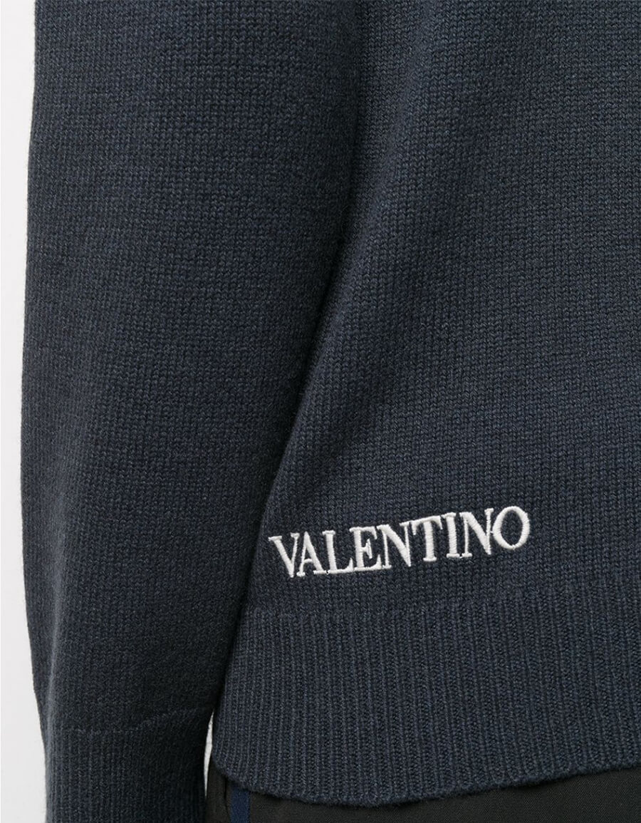 VALENTINO WOOL CREWNECK SWEATER