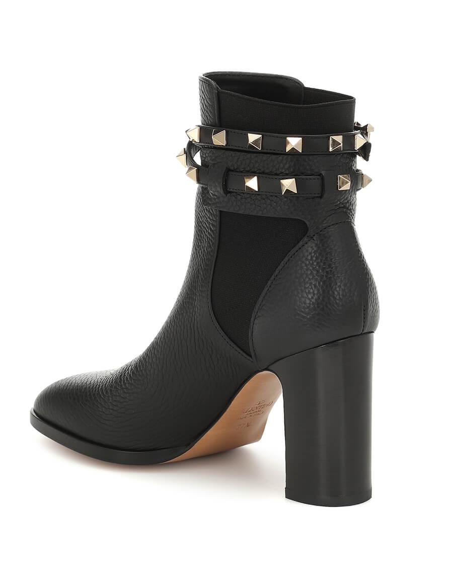 VALENTINO GARAVANI Valentino Garavani Rockstud leather ankle boots