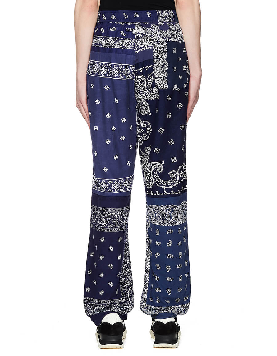 READYMADE Sleeping Patchwork Printed Trousers