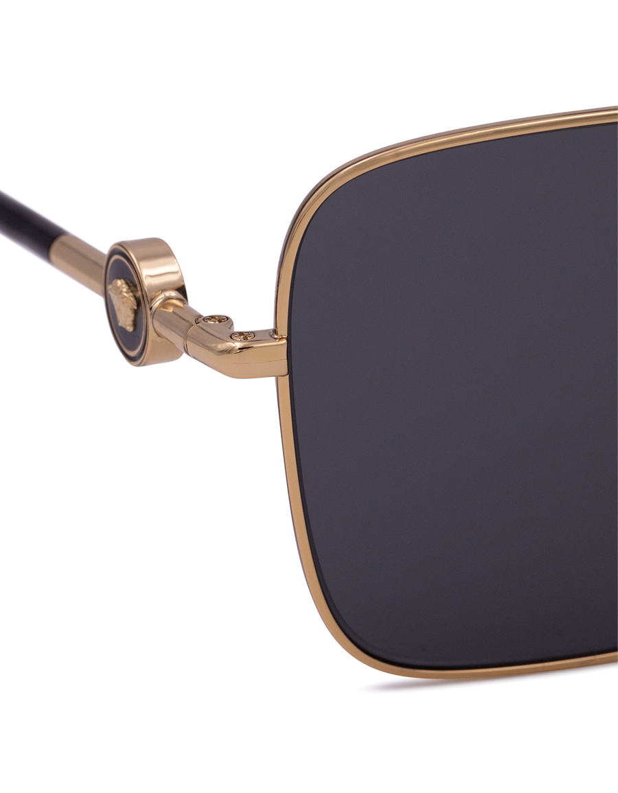 VERSACE Logo square sunglasses