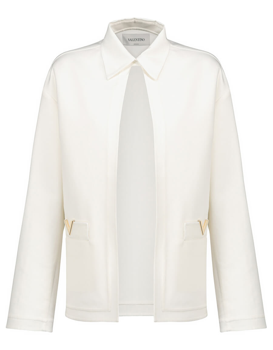 VALENTINO Valentino VGOLD gabardine jacket