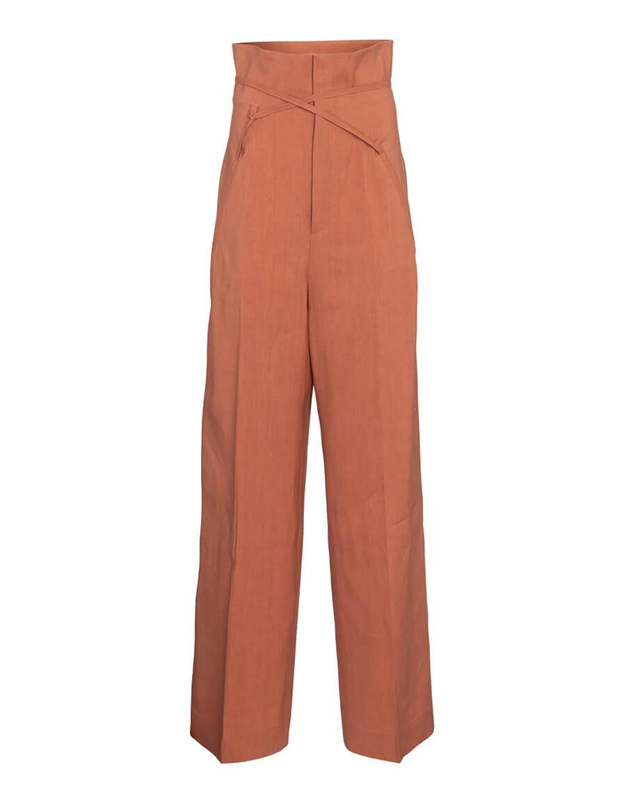 JACQUEMUS Le Pantalon Sauge wide leg pants