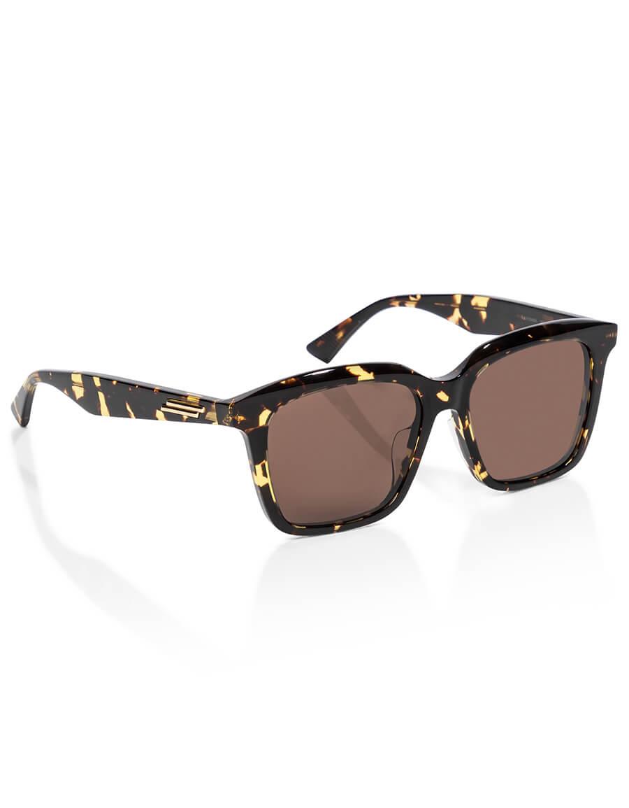 BOTTEGA VENETA Tortoiseshell acetate sunglasses