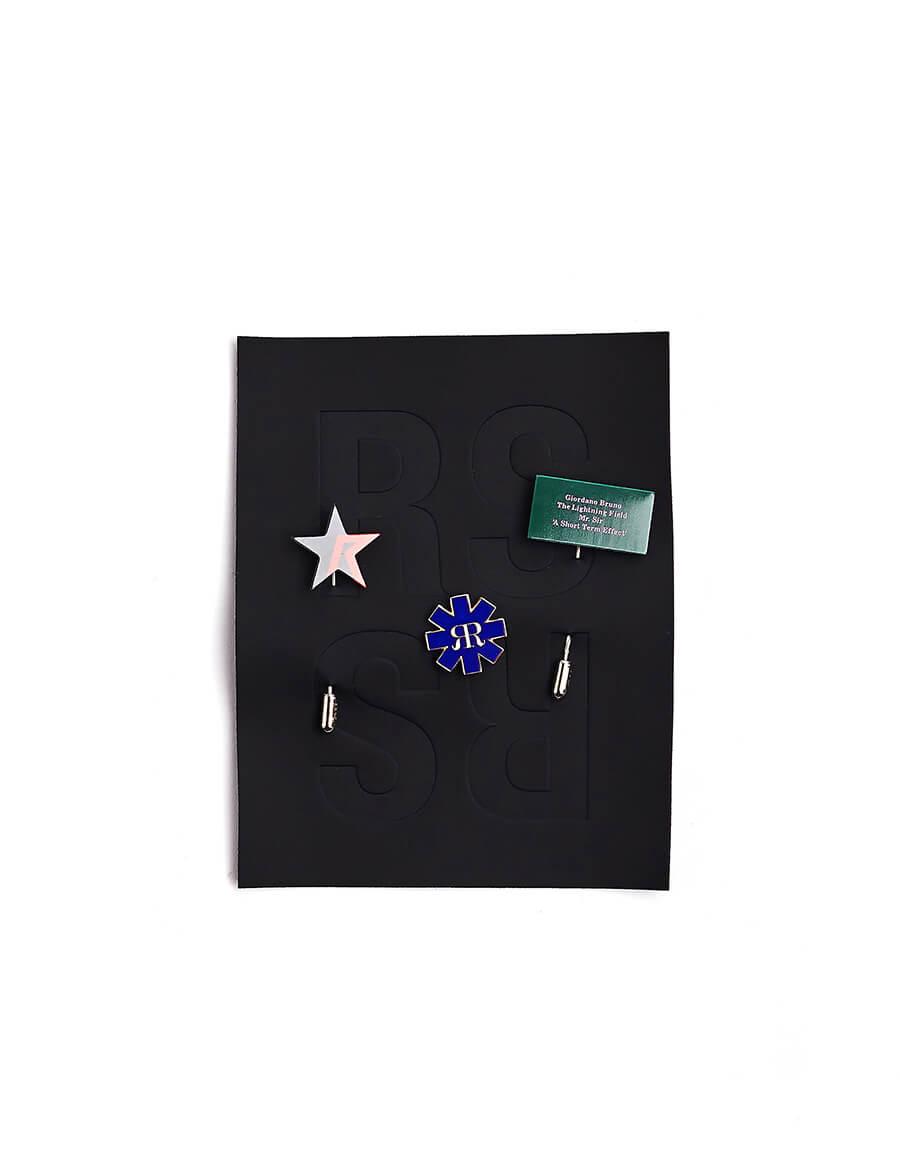 RAF SIMONS Monogram Pin Set