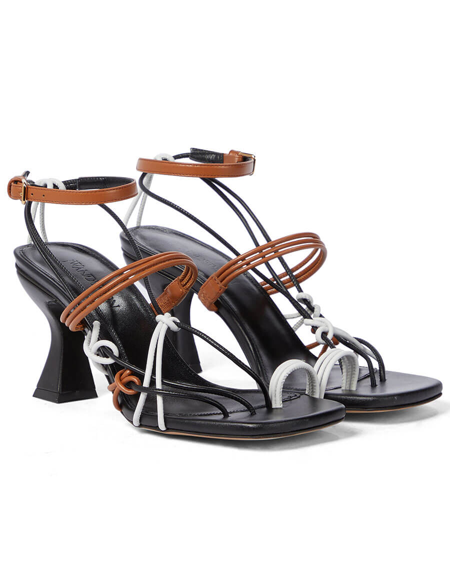 JW ANDERSON Leather sandals