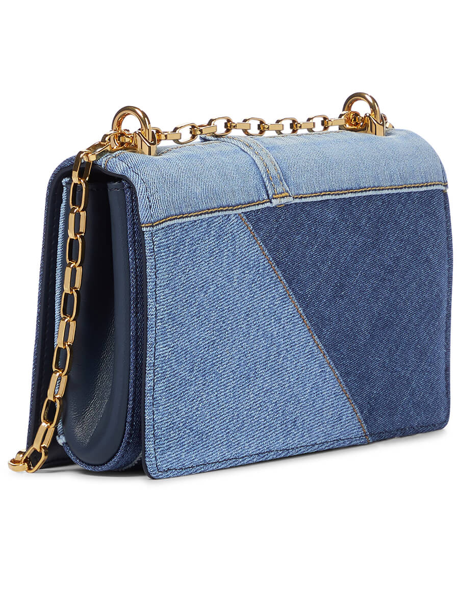 DOLCE & GABBANA DG Girls Small denim shoulder bag