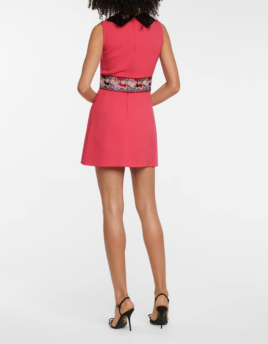 DOLCE & GABBANA Wool blend minidress