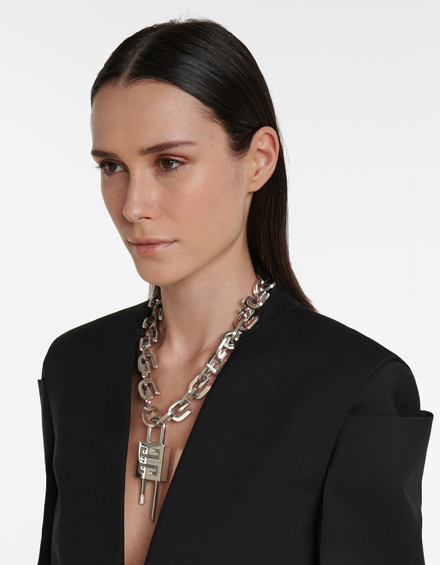 GIVENCHY G Link chain necklace