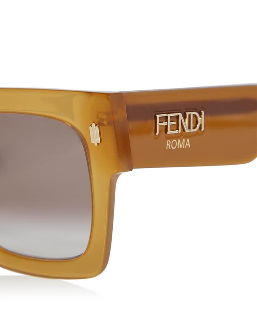 FENDI Fendi Roma square sunglasses