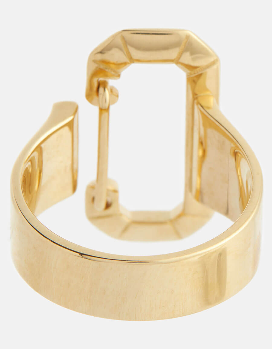 EÉRA 18kt yellow gold ring with diamonds