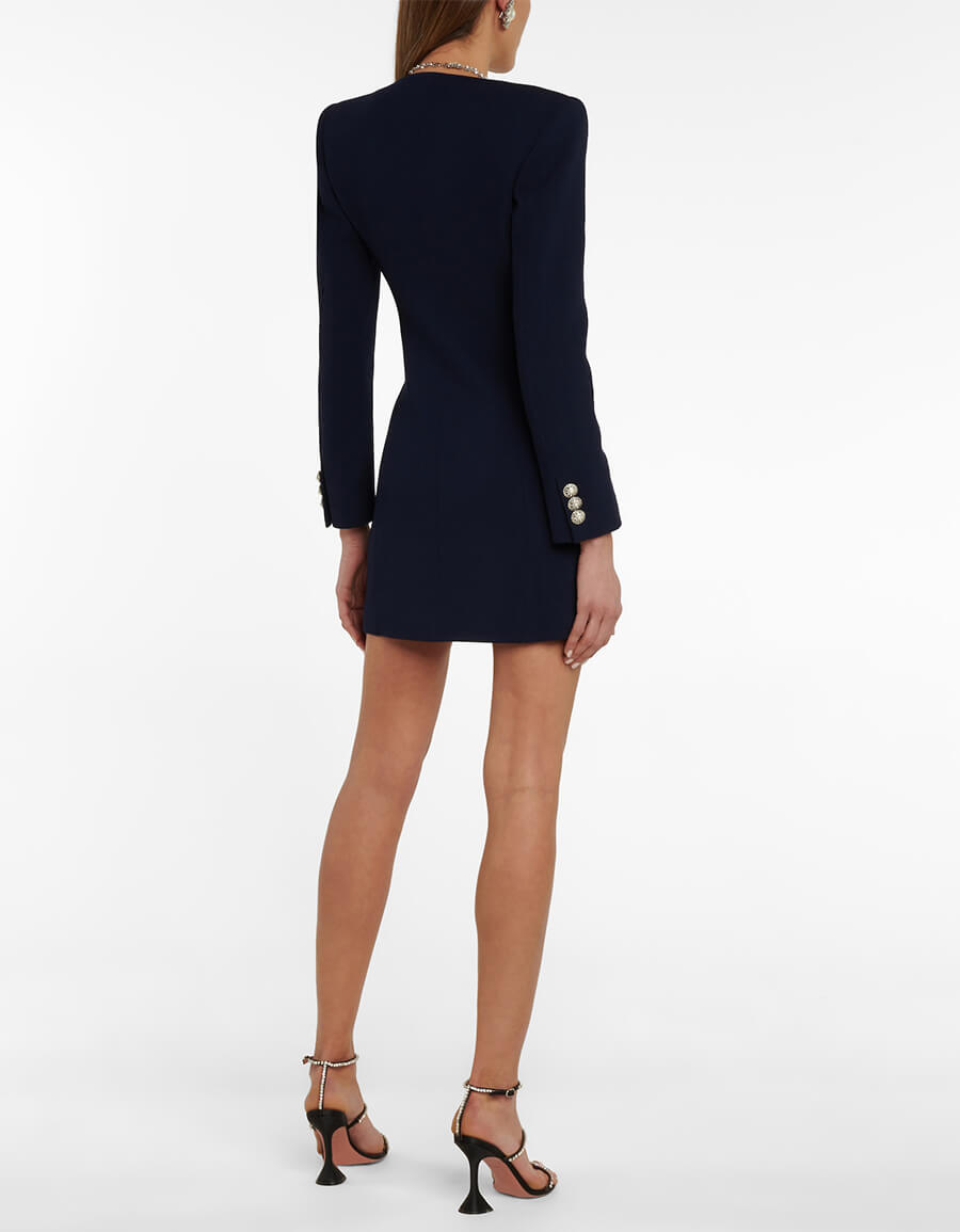 ALESSANDRA RICH Double breasted minidress