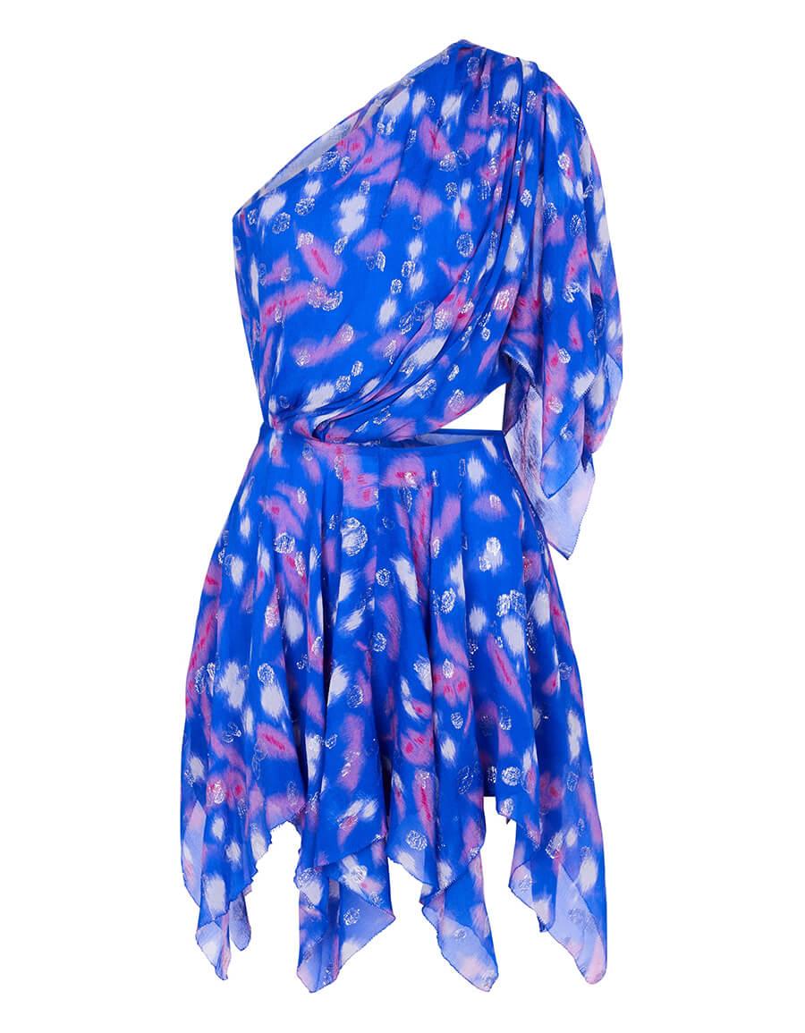 ISABEL MARANT Noliaze printed silk blend minidress
