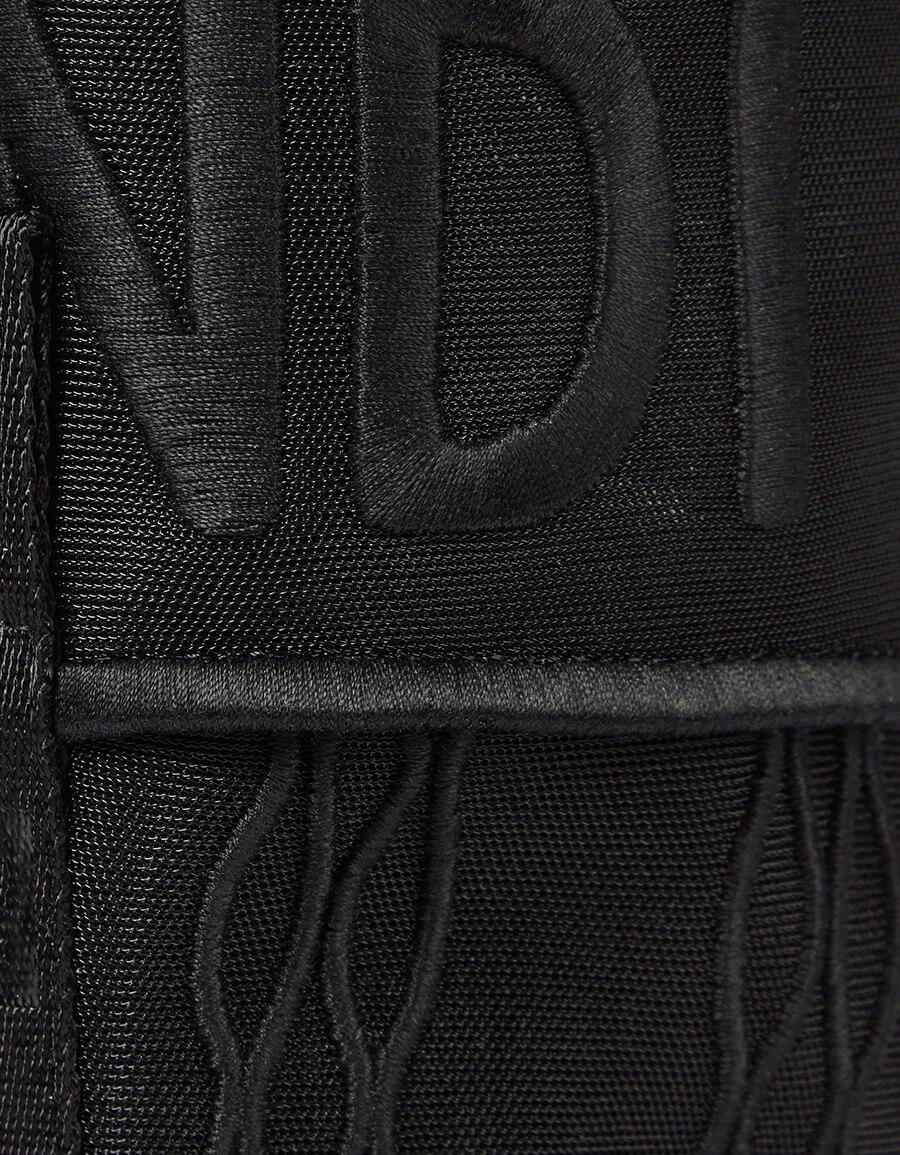 FENDI Signature mesh combat boots