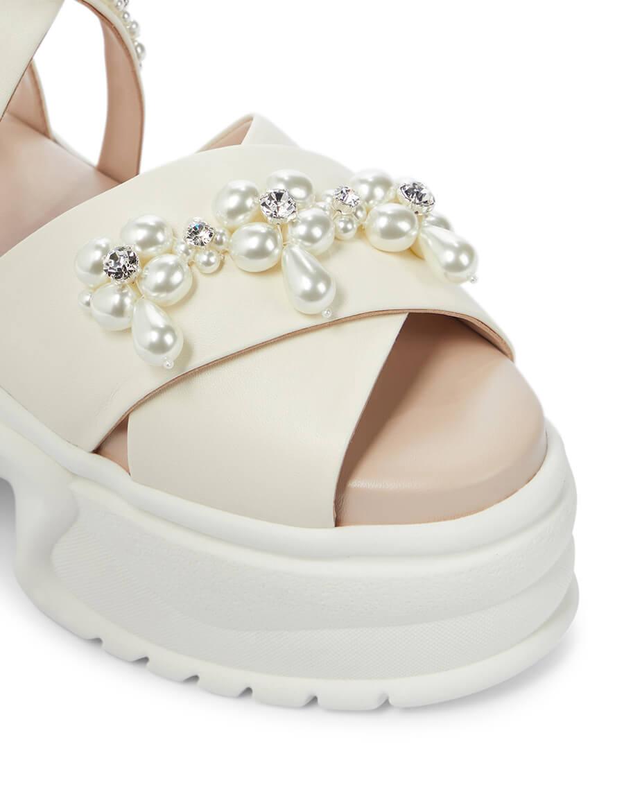 SIMONE ROCHA Embellished platform sandals