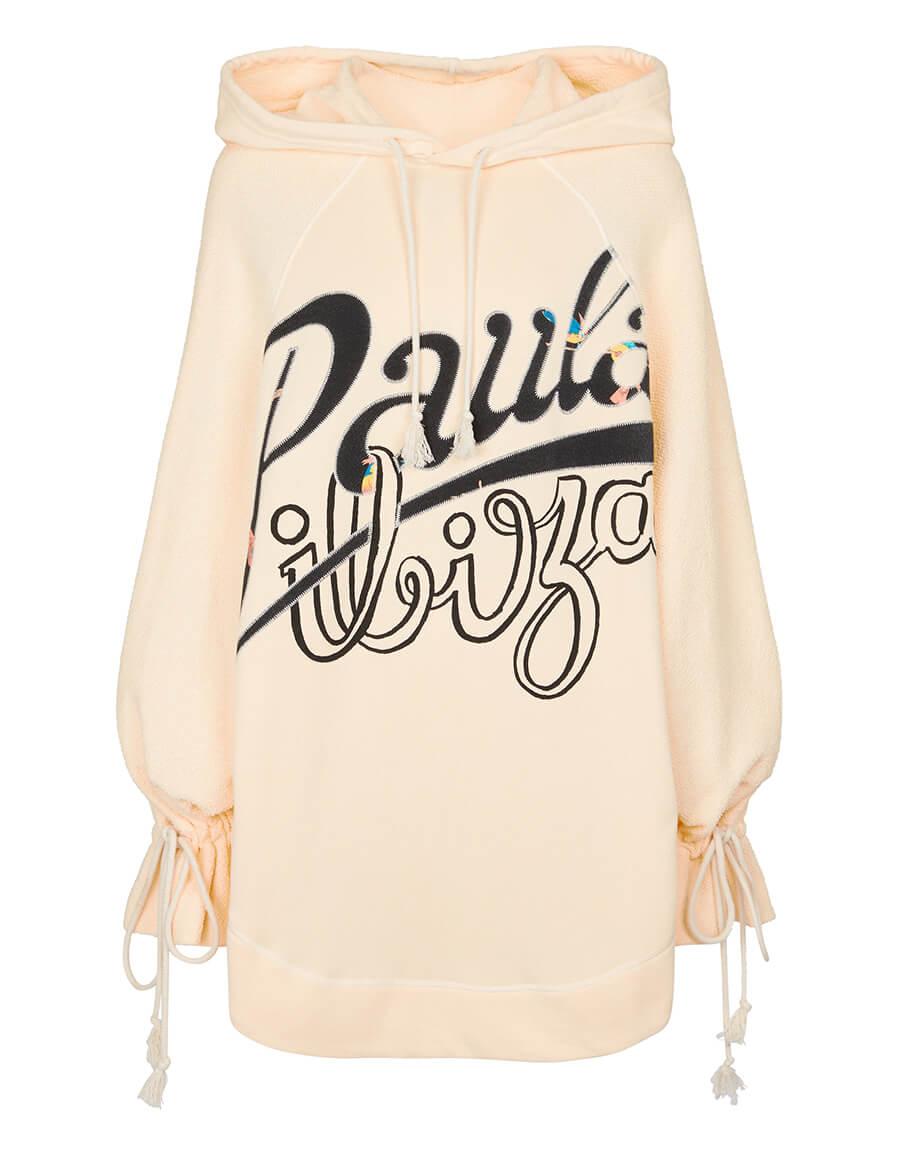 LOEWE Paula's Ibiza logo cotton jersey hoodie