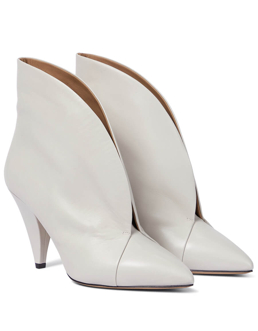 ISABEL MARANT Arfee leather ankle boots