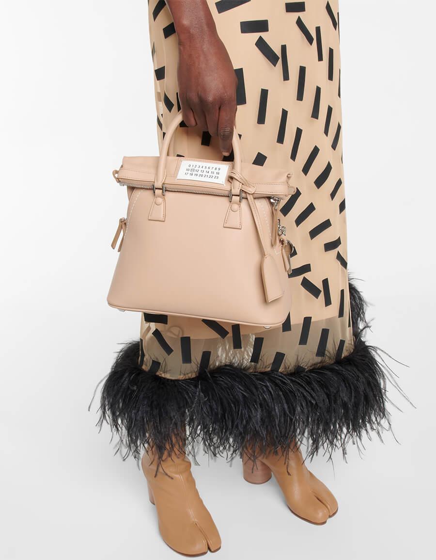MAISON MARGIELA 5AC Mini leather tote