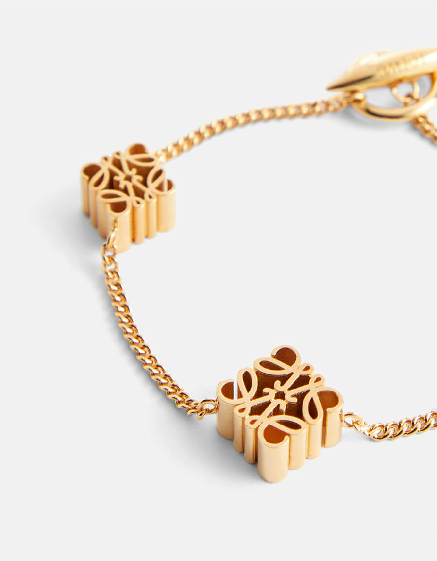 LOEWE Anagram chain bracelet
