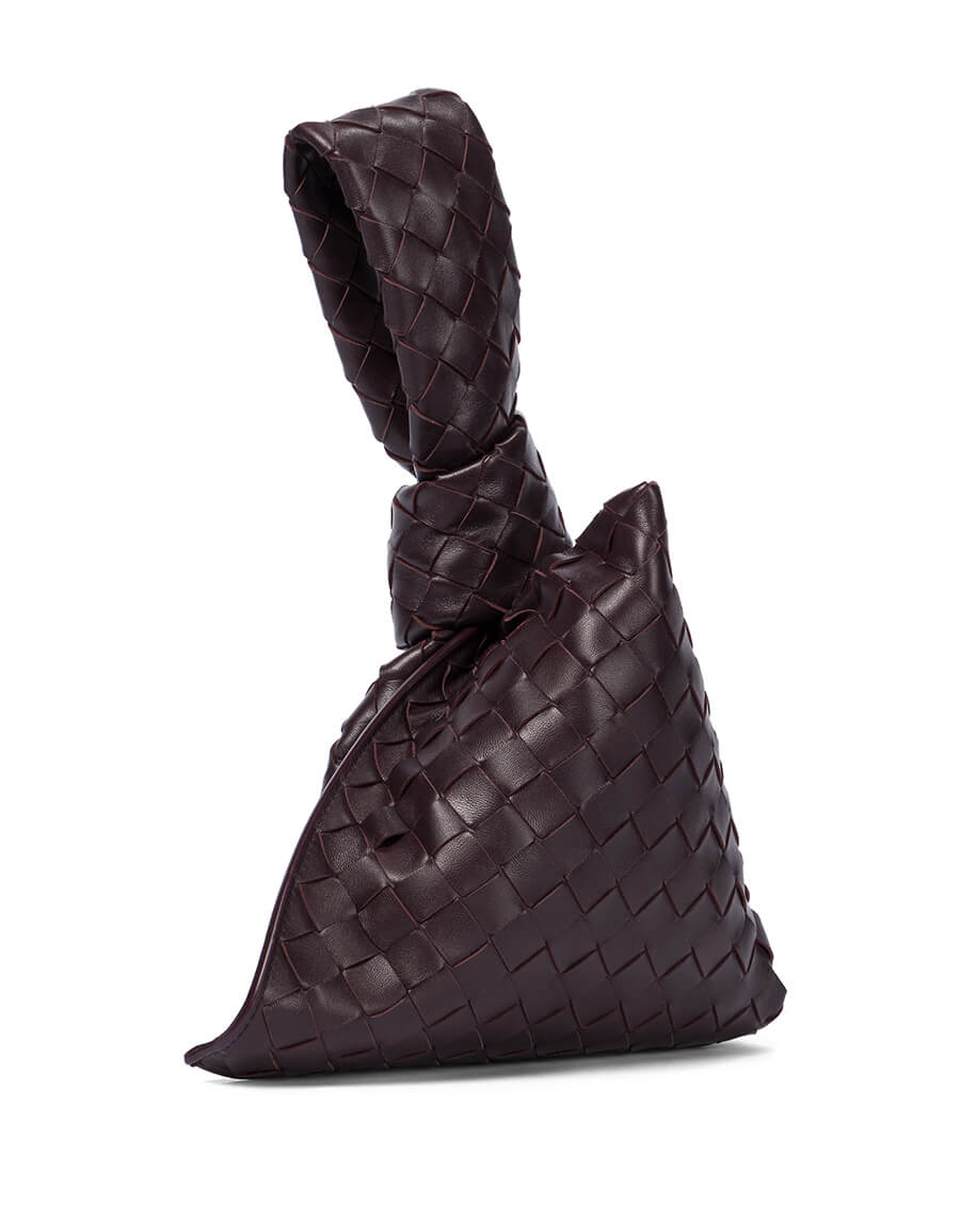 BOTTEGA VENETA The Mini Twist leather clutch
