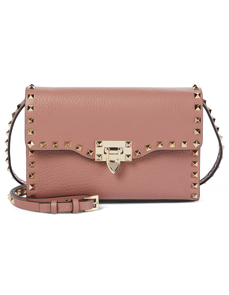 VALENTINO GARAVANI Rockstud Small leather shoulder bag