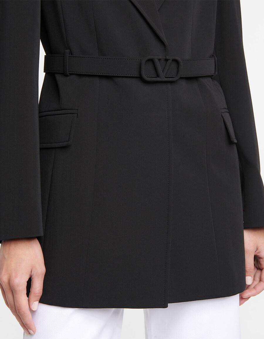 VALENTINO Belted wool blazer
