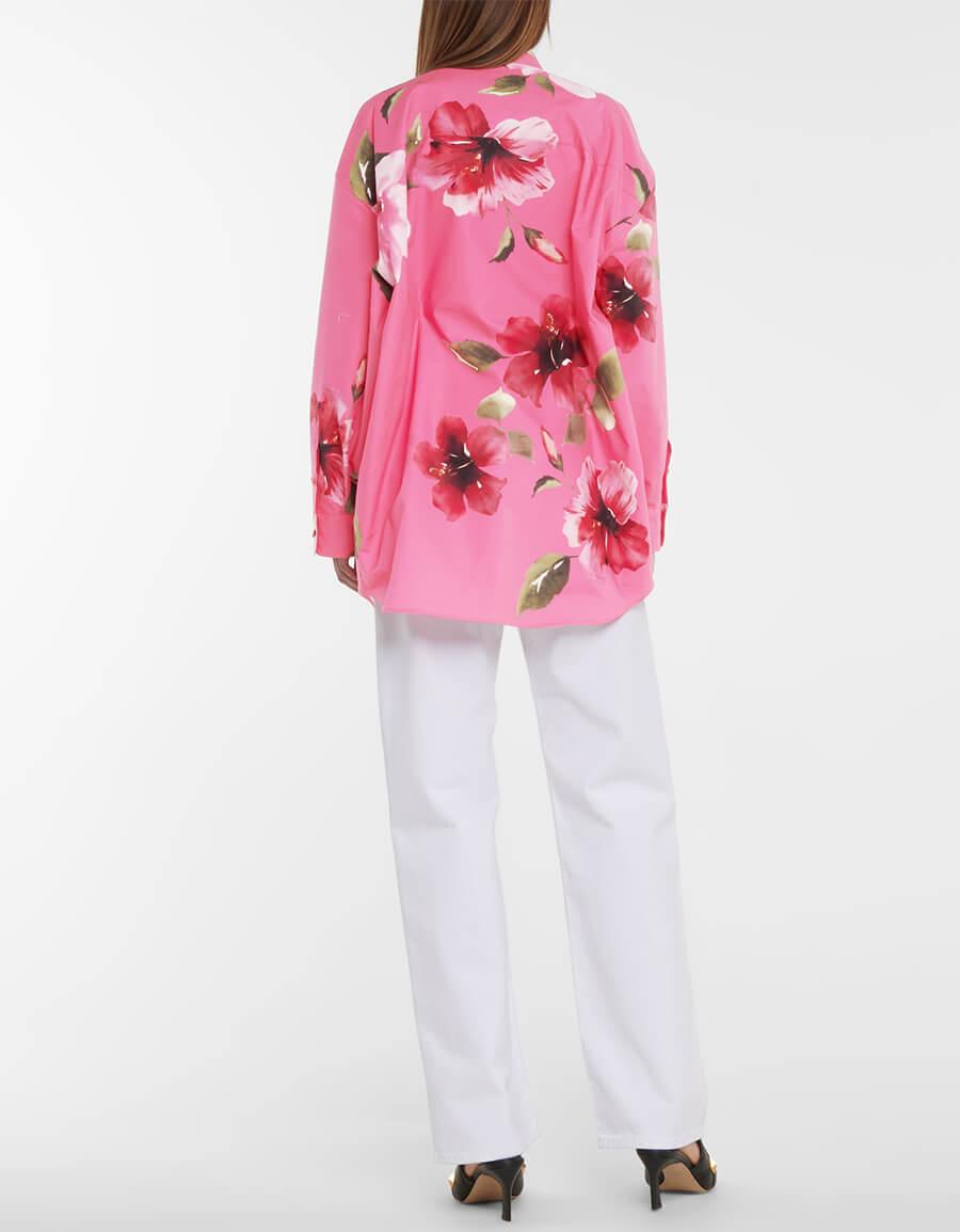 VALENTINO Floral cotton jacket
