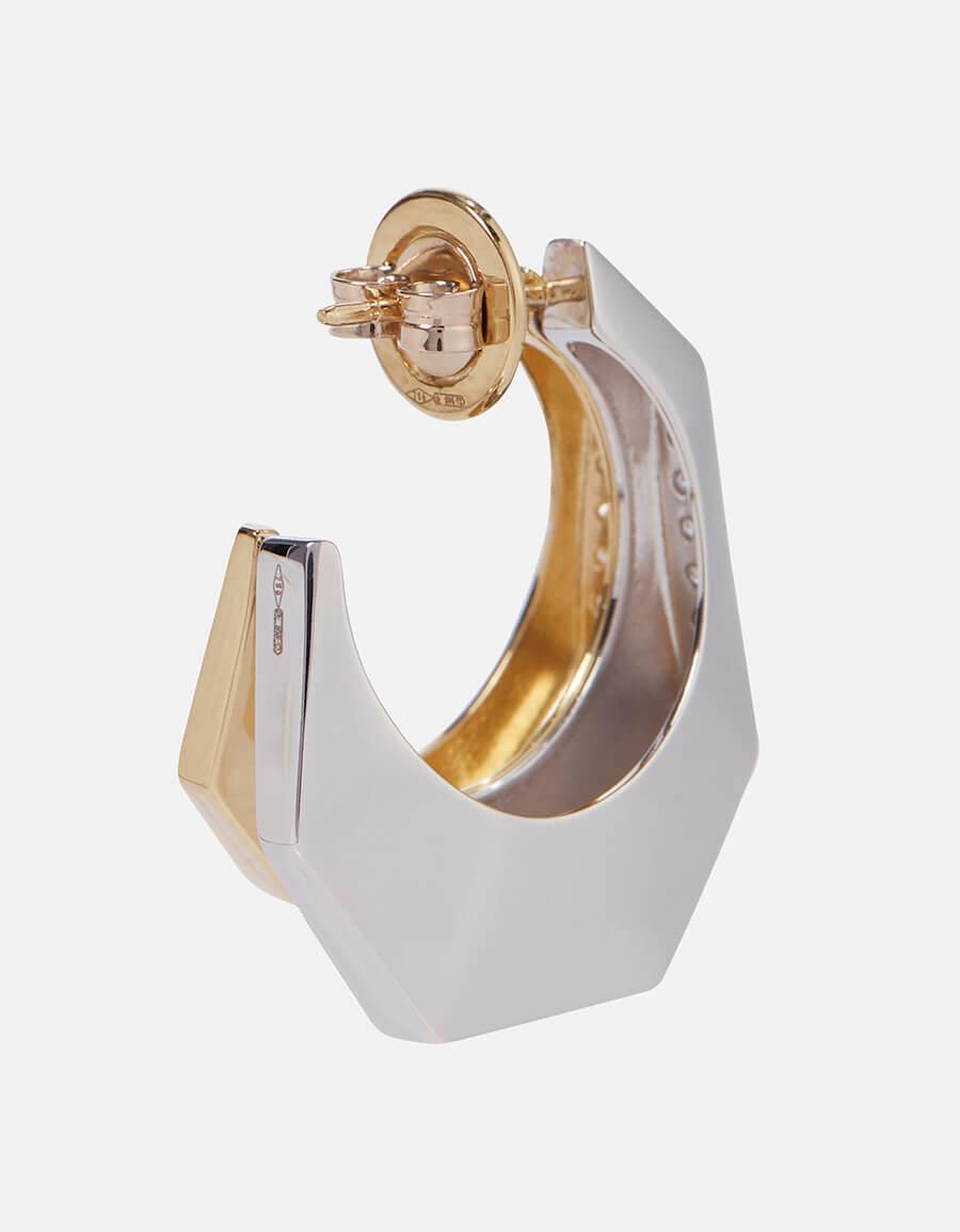 EÉRA Sabrina 18kt gold single earring with diamonds