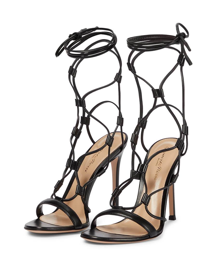 GIANVITO ROSSI Giza 105 leather sandals