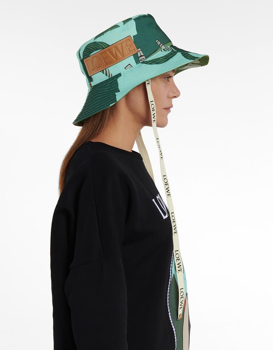 LOEWE x Ken Price Easter Island bucket hat