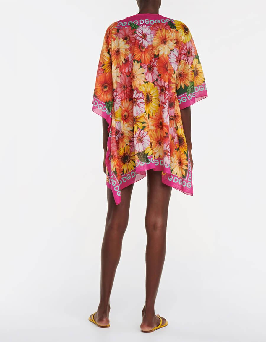 DOLCE & GABBANA Floral printed mini dress