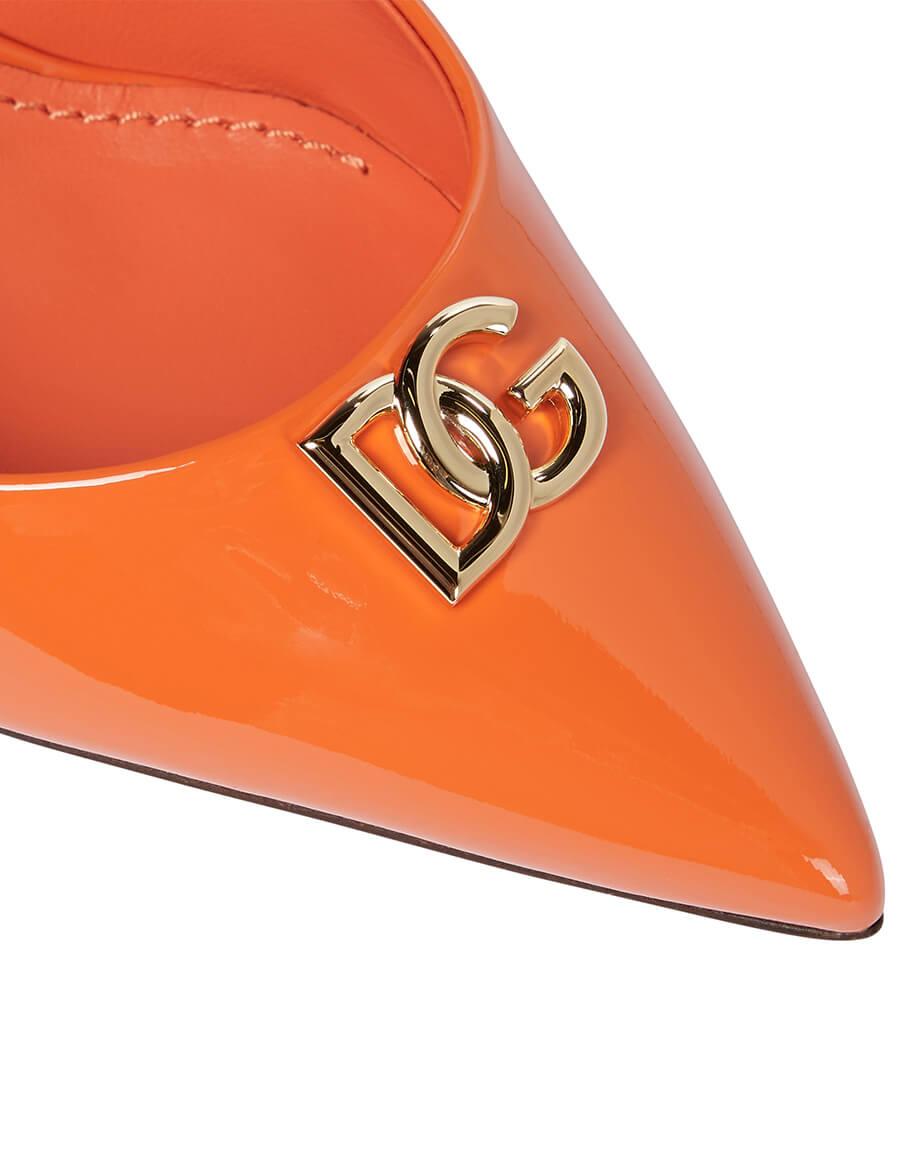 DOLCE & GABBANA DG patent leather pumps
