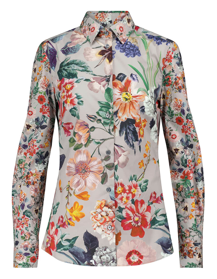 ETRO Cotton printed shirt