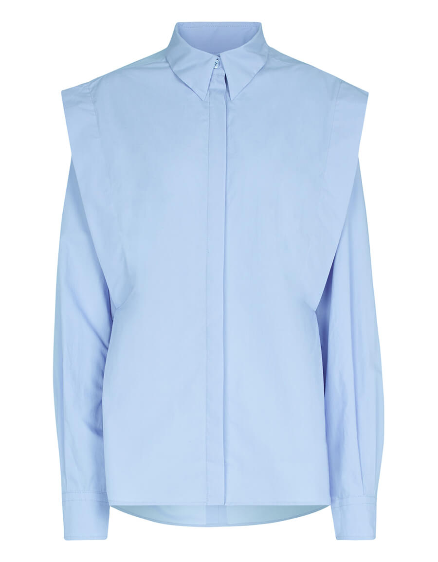 ISABEL MARANT Ralki stretch cotton shirt