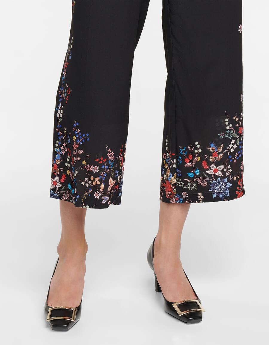ERDEM Straight silk pants