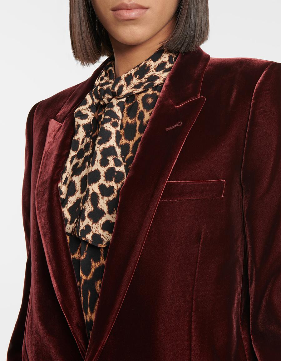 SAINT LAURENT Velvet blazer