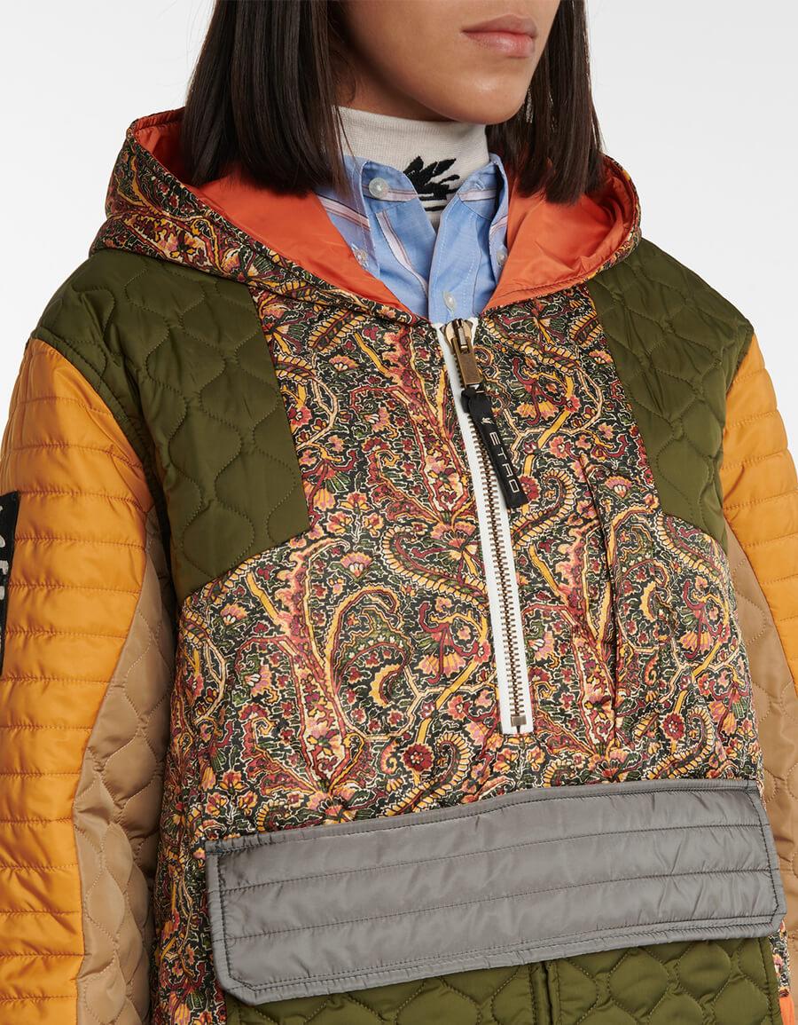ETRO Paisley hooded jacket
