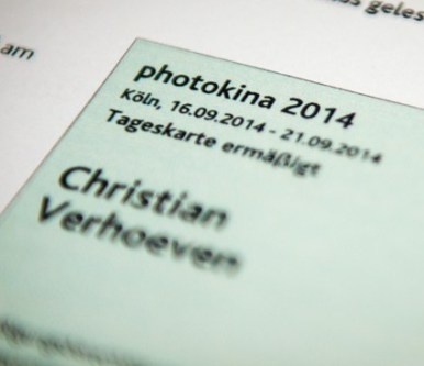 Photokina-Tickets