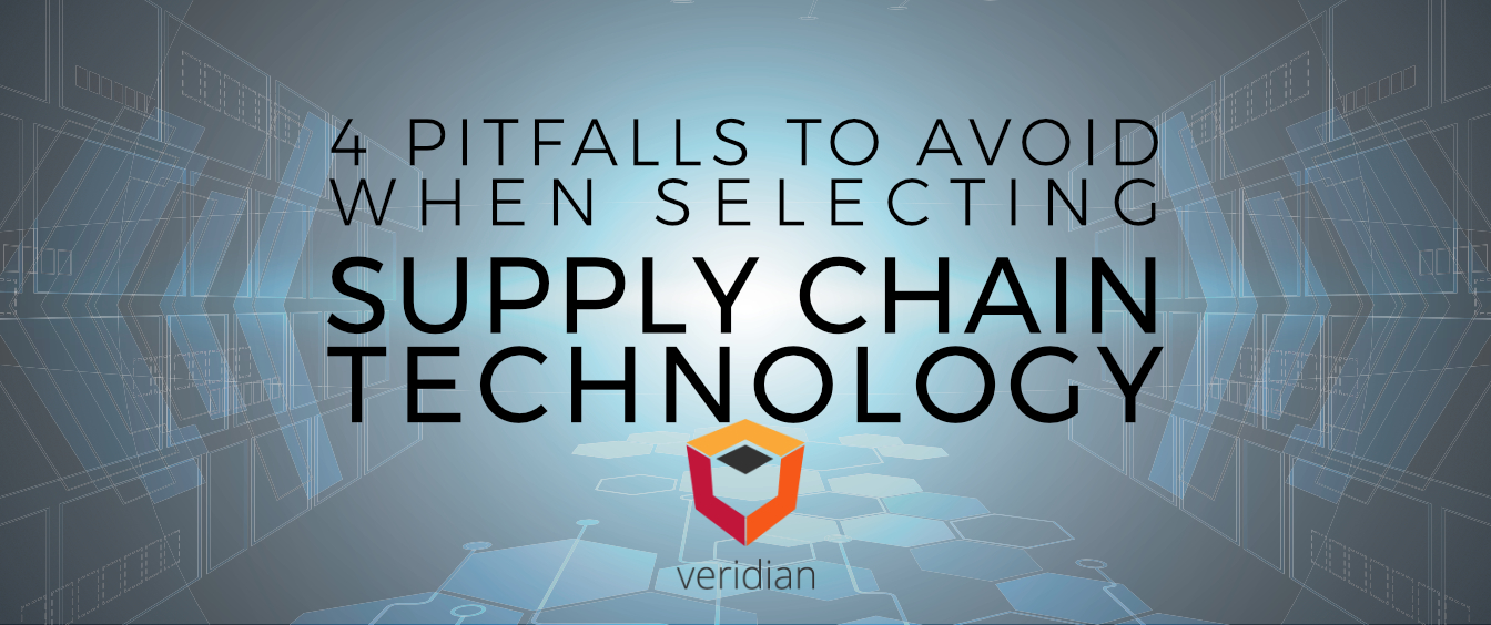 4 Pitfalls to Avoid When Selecting Supply Chain Technology