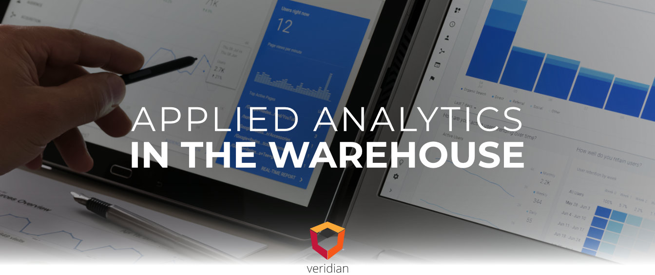 Applied Analytics in the Warehouse
